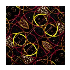 Luxury Futuristic Ornament Ceramic Tile