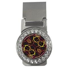 Luxury Futuristic Ornament Money Clip (CZ)