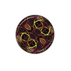 Luxury Futuristic Ornament Golf Ball Marker 4 Pack (for Hat Clip)