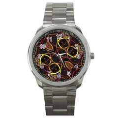 Luxury Futuristic Ornament Sport Metal Watch