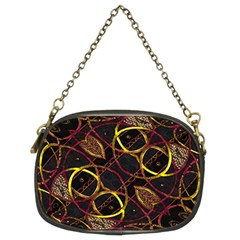 Luxury Futuristic Ornament Chain Purse (two Sided)