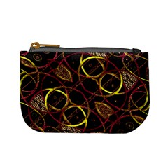 Luxury Futuristic Ornament Coin Change Purse