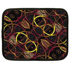 Luxury Futuristic Ornament Netbook Sleeve (xxl)