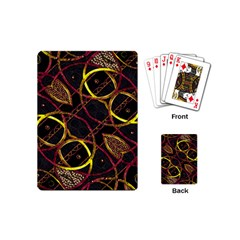 Luxury Futuristic Ornament Playing Cards (Mini)