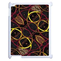 Luxury Futuristic Ornament Apple Ipad 2 Case (white)