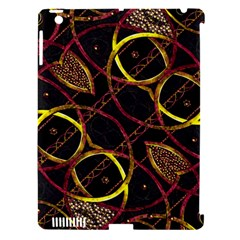 Luxury Futuristic Ornament Apple iPad 3/4 Hardshell Case (Compatible with Smart Cover)