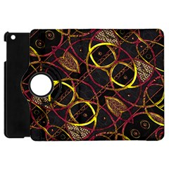 Luxury Futuristic Ornament Apple Ipad Mini Flip 360 Case