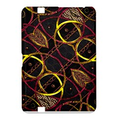 Luxury Futuristic Ornament Kindle Fire Hd 8 9  Hardshell Case