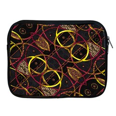 Luxury Futuristic Ornament Apple Ipad Zippered Sleeve