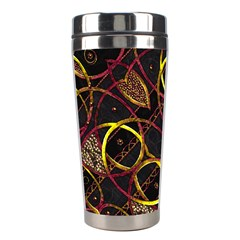 Luxury Futuristic Ornament Stainless Steel Travel Tumbler