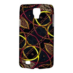 Luxury Futuristic Ornament Samsung Galaxy S4 Active (I9295) Hardshell Case