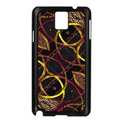 Luxury Futuristic Ornament Samsung Galaxy Note 3 N9005 Case (Black)