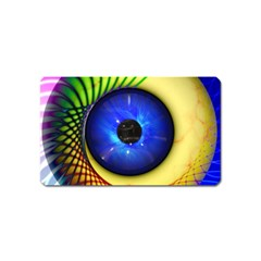 Eerie Psychedelic Eye Magnet (Name Card)