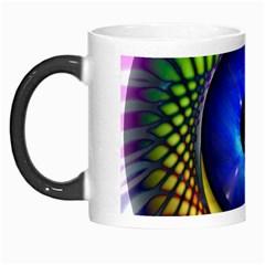 Eerie Psychedelic Eye Morph Mug