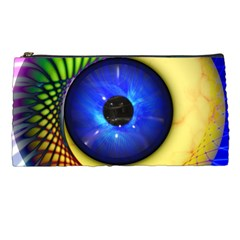 Eerie Psychedelic Eye Pencil Case