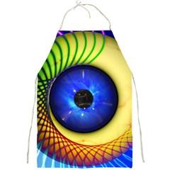 Eerie Psychedelic Eye Apron
