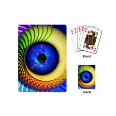 Eerie Psychedelic Eye Playing Cards (Mini)