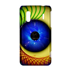 Eerie Psychedelic Eye HTC Evo Design 4G/ Hero S Hardshell Case