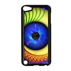 Eerie Psychedelic Eye Apple iPod Touch 5 Case (Black)