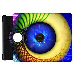 Eerie Psychedelic Eye Kindle Fire HD 7  (1st Gen) Flip 360 Case