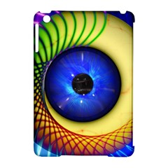 Eerie Psychedelic Eye Apple Ipad Mini Hardshell Case (compatible With Smart Cover)