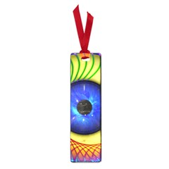 Eerie Psychedelic Eye Small Bookmark