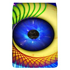 Eerie Psychedelic Eye Removable Flap Cover (small)