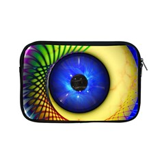Eerie Psychedelic Eye Apple Ipad Mini Zippered Sleeve