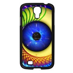 Eerie Psychedelic Eye Samsung Galaxy S4 I9500/ I9505 Case (Black)