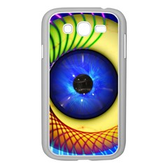 Eerie Psychedelic Eye Samsung Galaxy Grand Duos I9082 Case (white)