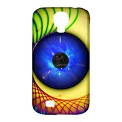 Eerie Psychedelic Eye Samsung Galaxy S4 Classic Hardshell Case (PC+Silicone)