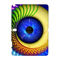 Eerie Psychedelic Eye Samsung Galaxy Note 10.1 (P600) Hardshell Case