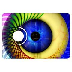 Eerie Psychedelic Eye Kindle Fire Hdx 7  Flip 360 Case