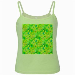 Summer Fun Green Spaghetti Tank