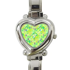 Summer Fun Heart Italian Charm Watch