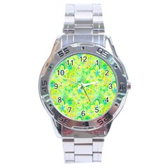 Summer Fun Stainless Steel Watch