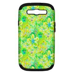 Summer Fun Samsung Galaxy S Iii Hardshell Case (pc+silicone)