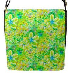 Summer Fun Flap Closure Messenger Bag (small)
