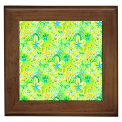 Summer Fun Framed Ceramic Tile