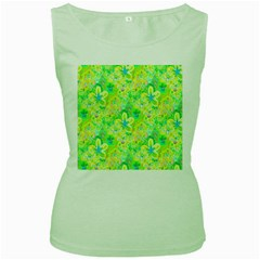 Summer Fun Women s Tank Top (Green)