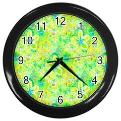 Summer Fun Wall Clock (black)