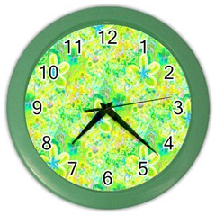 Summer Fun Wall Clock (Color)