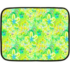 Summer Fun Mini Fleece Blanket (two Sided)