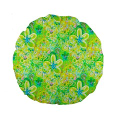 Summer Fun 15  Premium Round Cushion