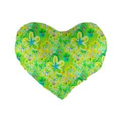 Summer Fun 16  Premium Heart Shape Cushion