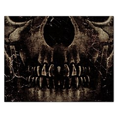 Skull Poster Background Jigsaw Puzzle (Rectangle)