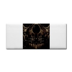 Skull Poster Background Hand Towel