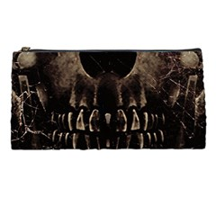 Skull Poster Background Pencil Case