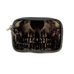 Skull Poster Background Coin Purse