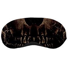 Skull Poster Background Sleeping Mask